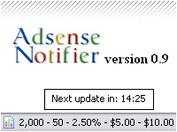 Adsense Notifier