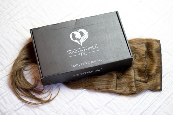 Irresistible Me Hair Extensions Review - Chasing Cinderella