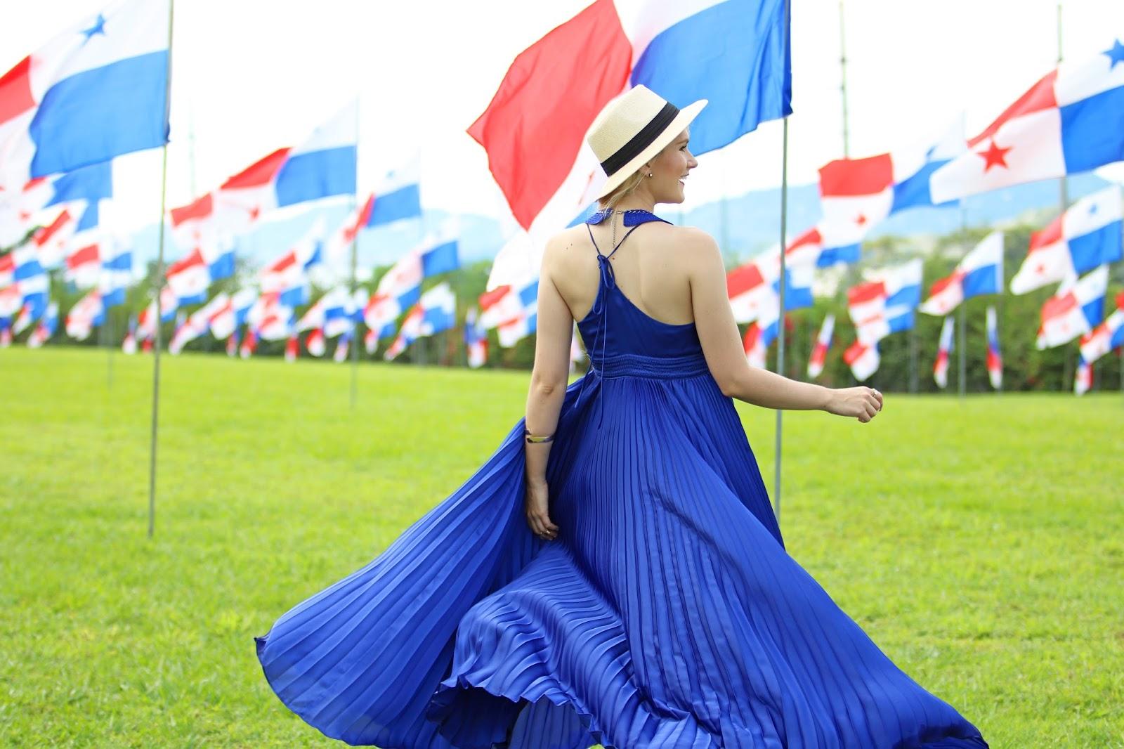 Bello look en celebración de las Fiestas Patrias Panameñas