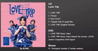 Love Trip - CD dan DVD