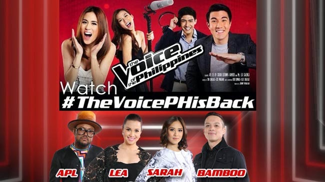 The Voice of the Philippines Season 2: The Coaches Are Back Starting October 26, 2014