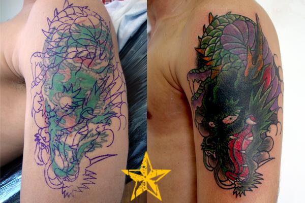Prefiro Andar Com Os Loucos Do Que Com Os Falsos: Cobertura De Tatuagem Nas Costas