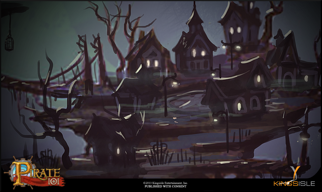 Pirate101 Darkmoor New World Concept Art