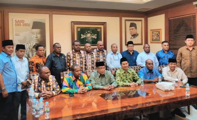 Majelis Rakyat Papua Minta Solusi PBNU Agar Muslim dan Kristen Hidup Rukun di Papua