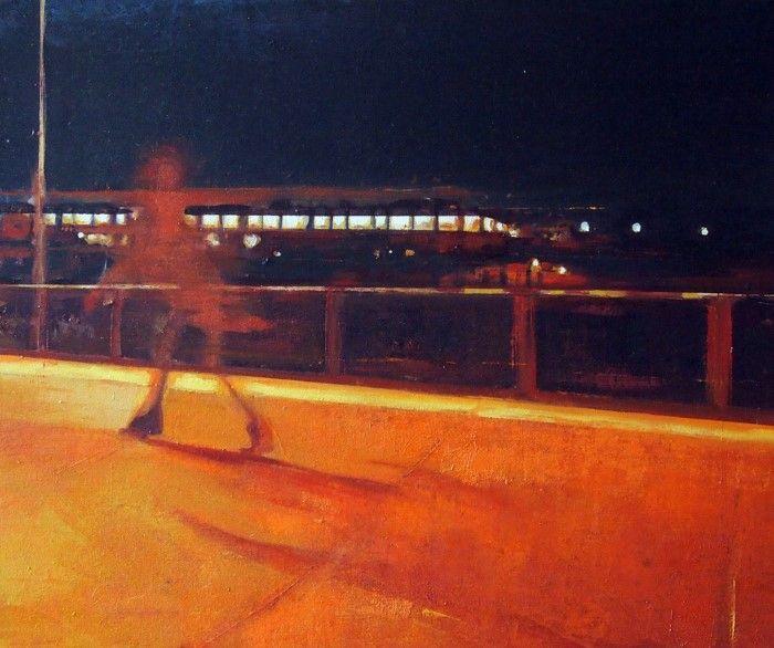 Шотландский художник. Paul Mowat