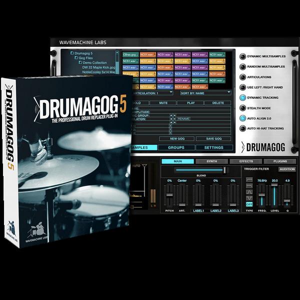 Drumagog 5 Platinum v5.21 + Factory Library