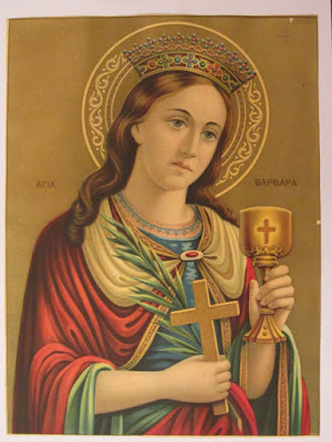 της Αγίας Βαρβάρας σήμερα και το έθιμο Βαρβάρα ή Ασουρέ!