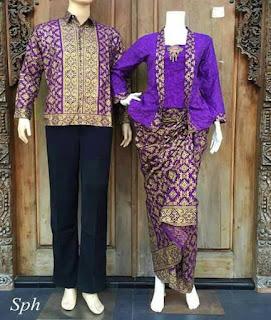baju couple batik lengan panjang murah