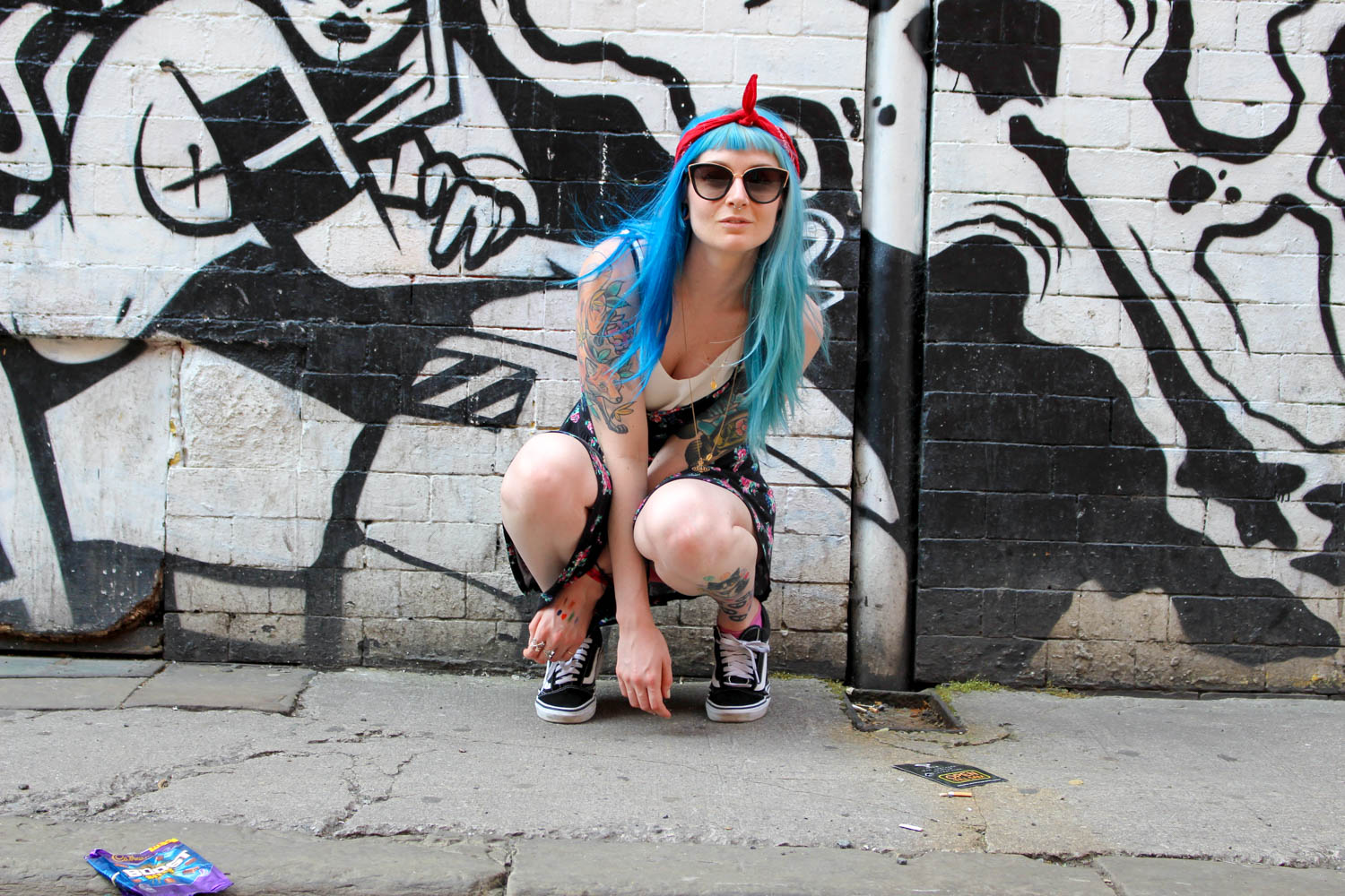 Alternative Fashion Blogger Foxxtailz Northern Quarter