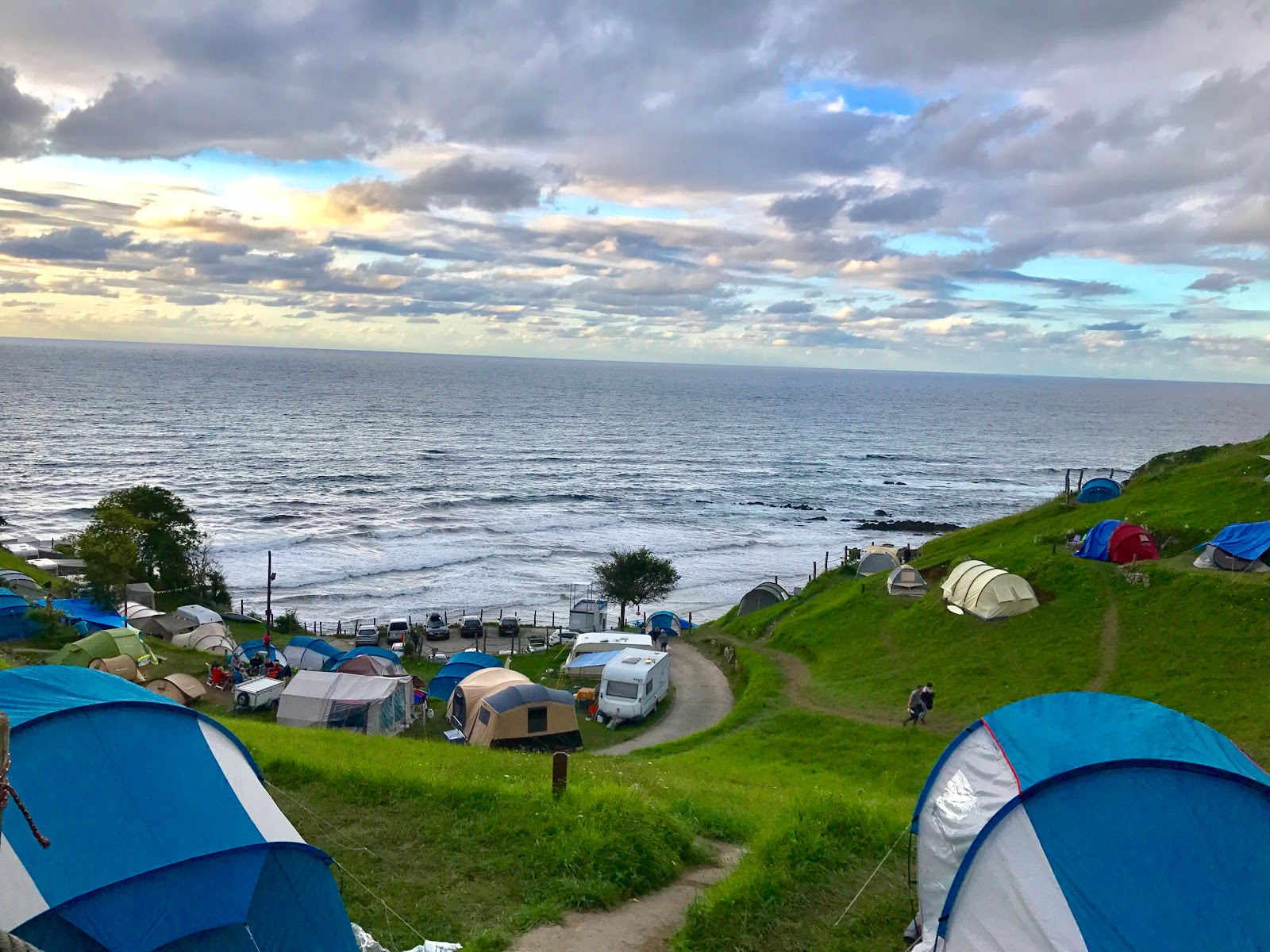 Kamping la Paz nad Zatoką biskajską - MOTO EURO TRIP 2017: Z UK NA GIBRALTAR - DZIEŃ 11/13