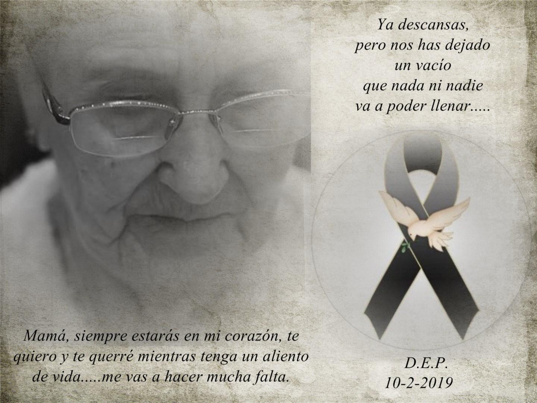 El Rincón De Chelo Mamá Descansa En Paz