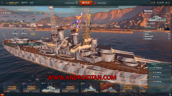 World of Warships Blitz Mod Apk Android