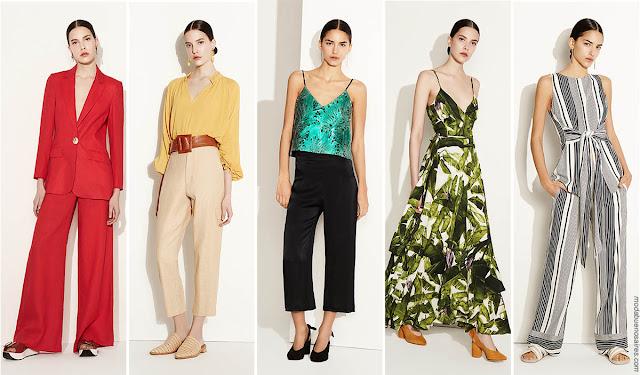 Moda primavera verano 2018 | Blusas, vestidos, pantalones, monos y vestidos primavera verano 2018.