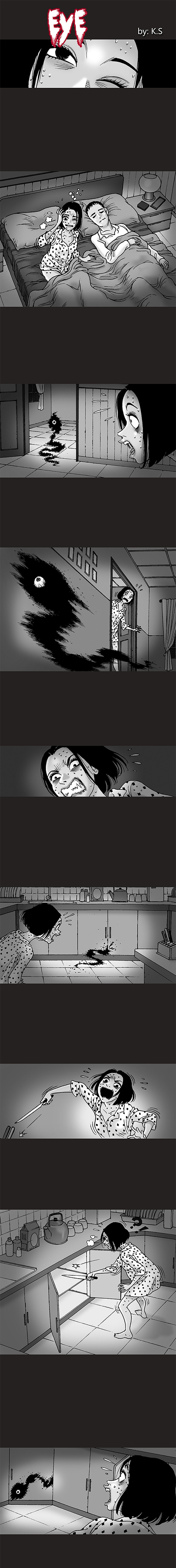 Silent Horror chap 101: Con mắt