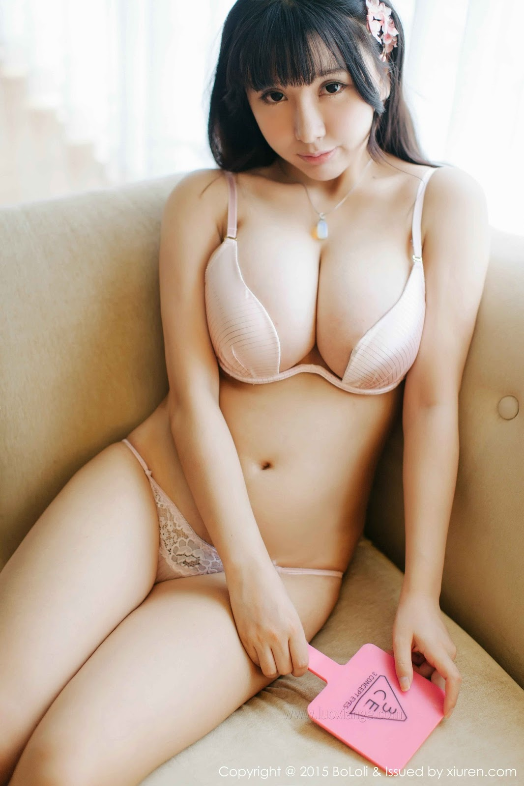 Chinese nude model in amazing background 8