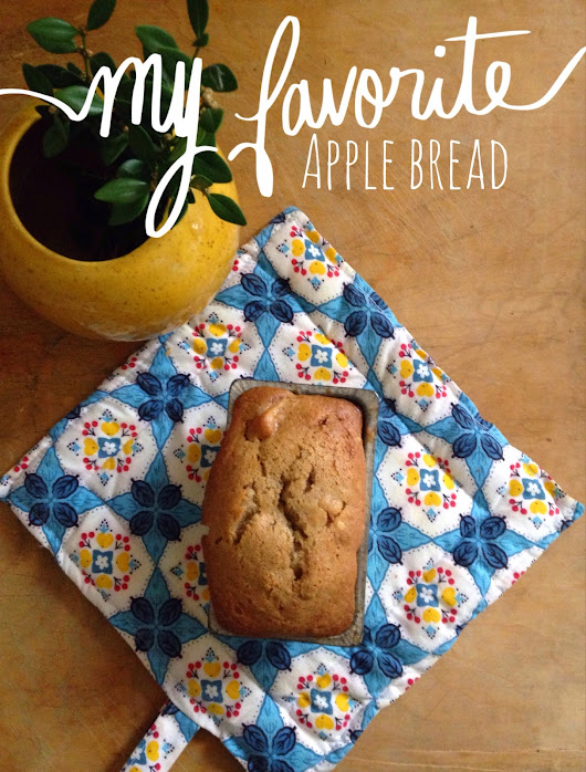 Super Easy Apple Bread