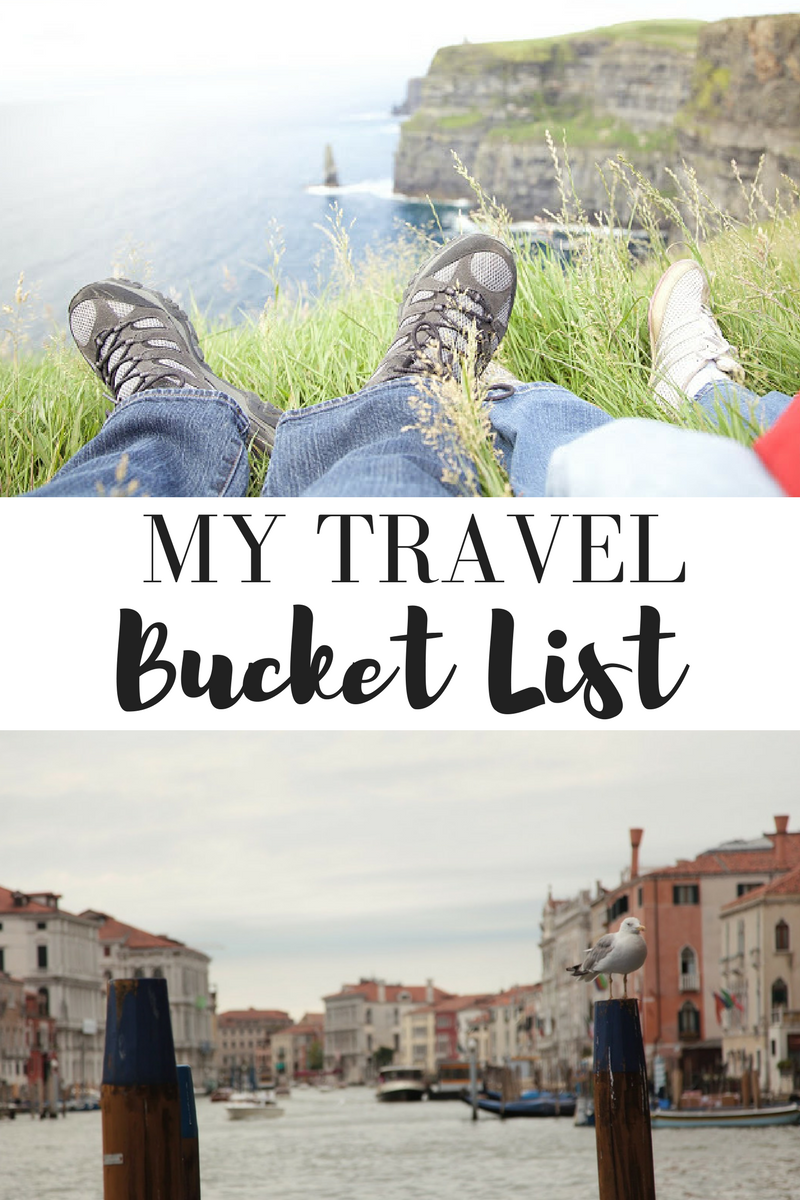 Here Are Some Places That Still On My Travel Bucket List Both In The US And Beyond