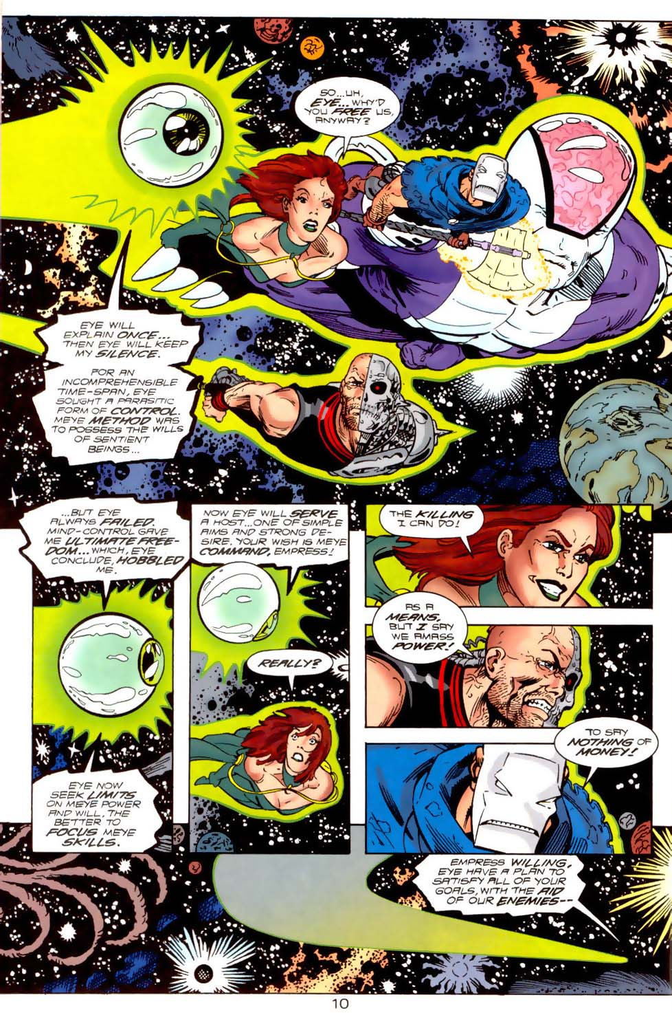 Legion of Super-Heroes (1989) 120 Page 10