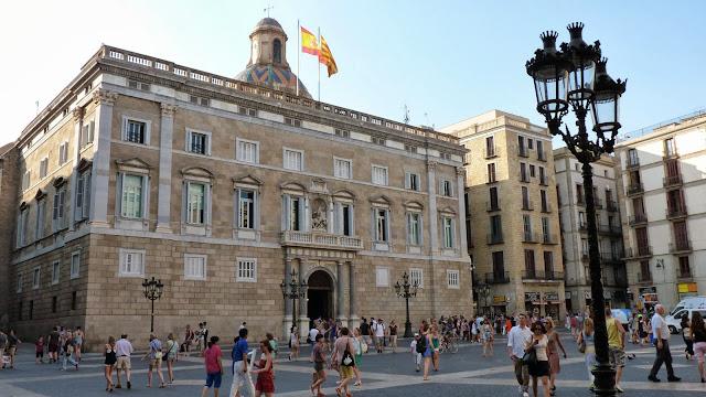 Plaza Sant Jaume, Barcelona