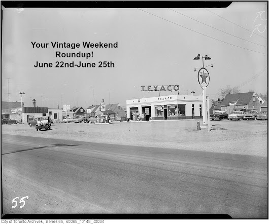 Your Vintage Weekend Roundup: June 22nd-June 25th