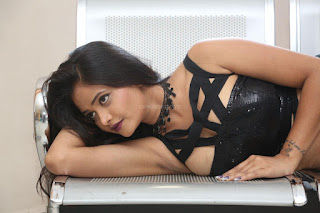 Shriya Vyas in a Tight Backless Sleeveless Crop top and Skirt 9.JPG