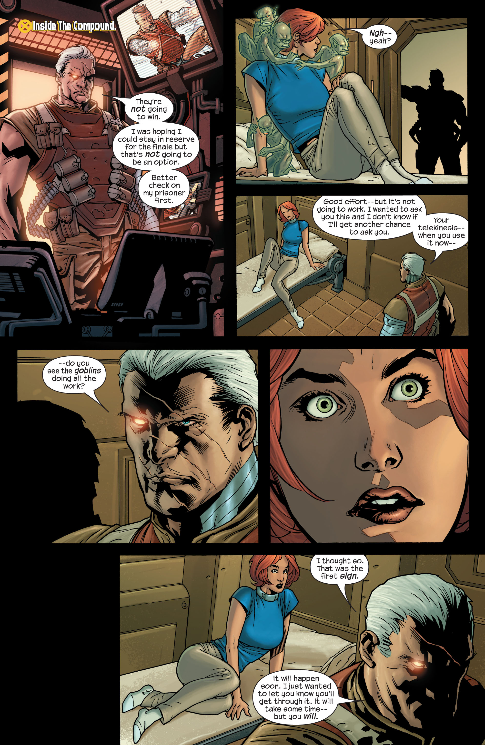Read online Ultimate X-Men comic -  Issue #77 - 19
