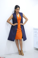 Priyamani in Beautiful Short Deep neck Orange Dress ~  Exclusive 16.JPG