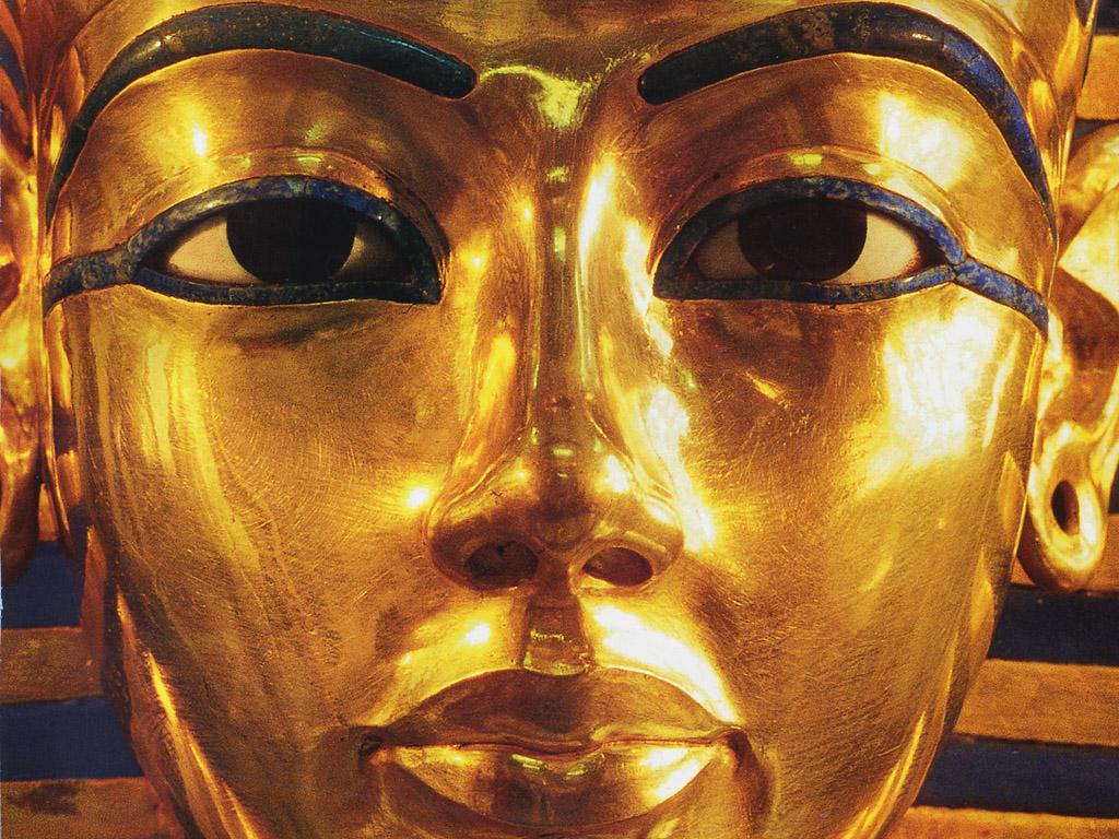 Máscara de Tutankamón.