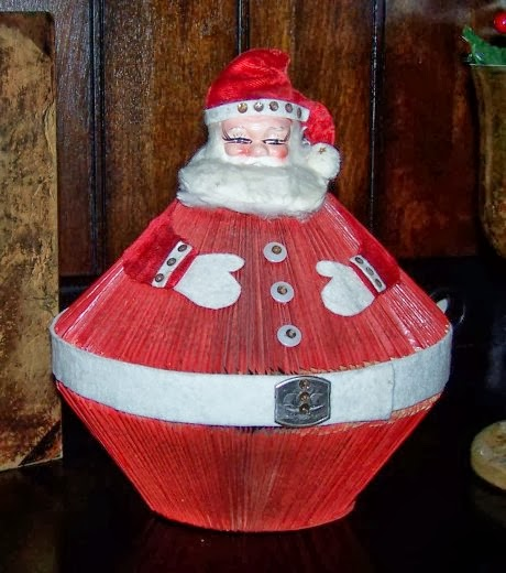 5be585f0e4 How to Recycle  Recycled Santa Claus Ornaments