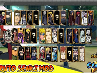 Download Naruto Senki MOD Fighter v1.0 Full Version Apk Android Terbaru