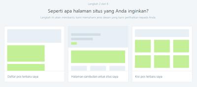 Cara Membuat Blog di Wordpress langkah 2