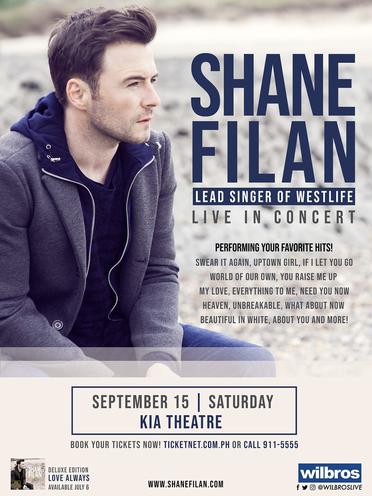 Westlife S Shane Filan Live In Kia Theater On September 15 Recycle