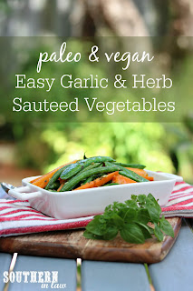 Easy Garlic Herb Sauteed Vegetables Recipe