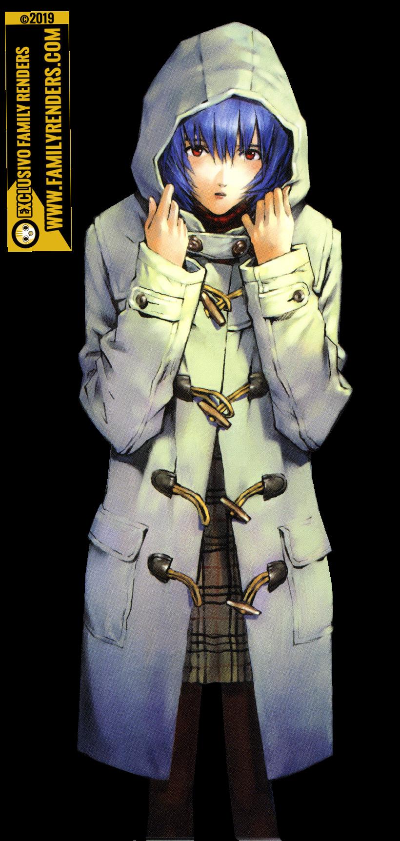 PNG Rei Ayanami