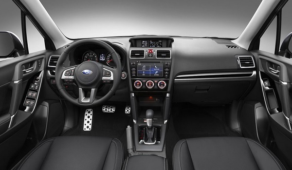Interior Subaru Forester 2016