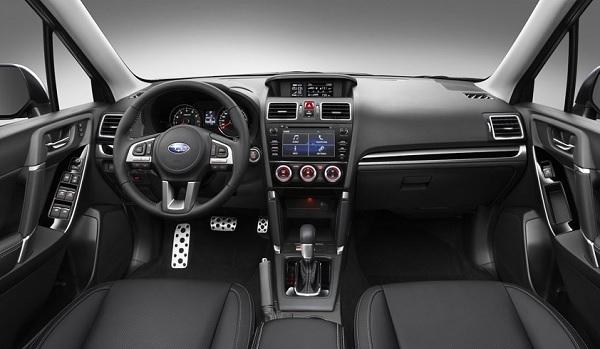 Interior Subaru Forester 2016