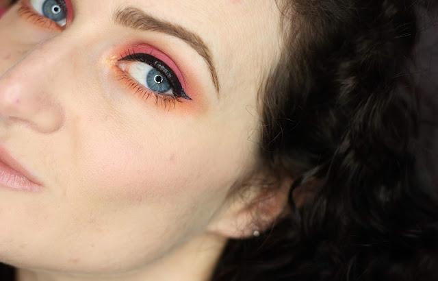 maquillae-rose-et-orange