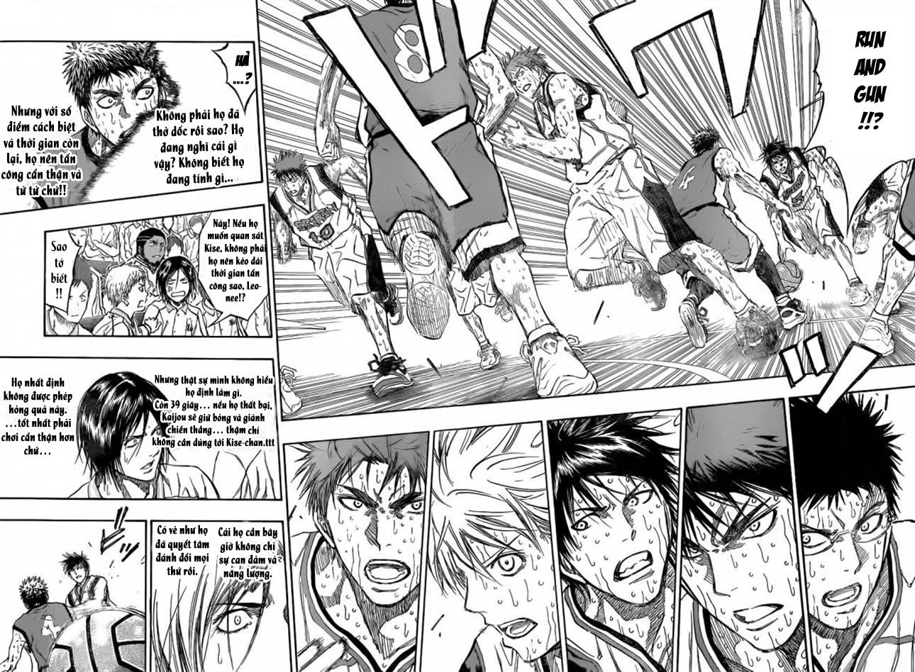 Kuroko No Basket chapter 200 trang 8