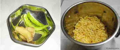 Moong dal and chana dal dosa - step 2