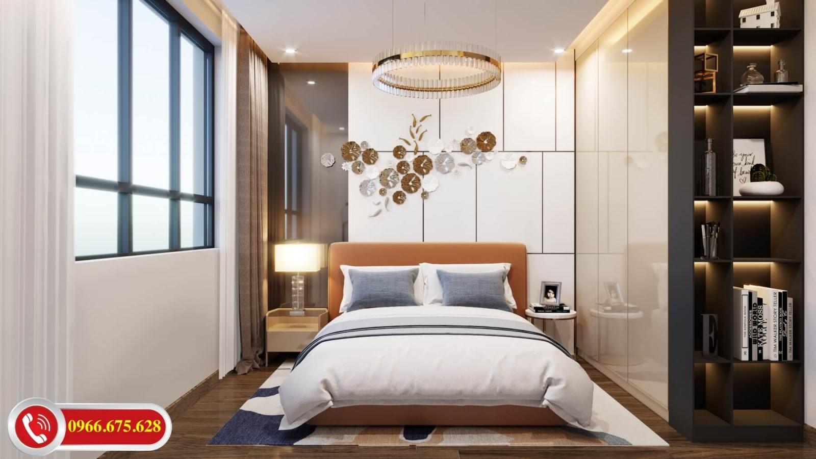 Phòng ngủ dự án Amber Riverside 622 Minh Khai