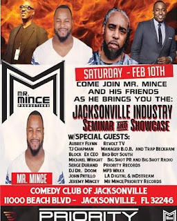 New Event: Jacksonville Industry Seminar Goes Down On Saturday February 10th