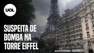 Torre Eiffel evacuada – Vacina CoronaVac – Incêndios no Pantanal