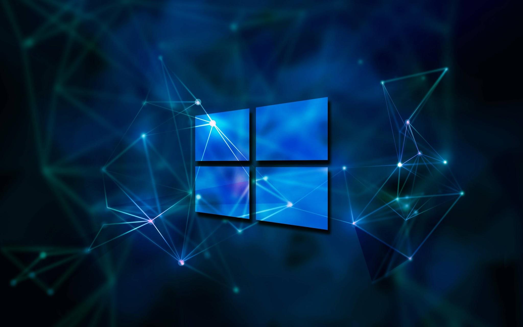 Windows Plano De Fundo Geometria