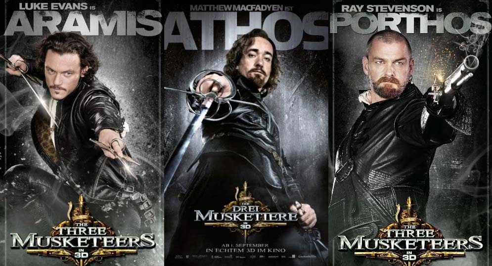 Movie Posters 2011: In Theaters Today: The Three Musketeers In 3D
