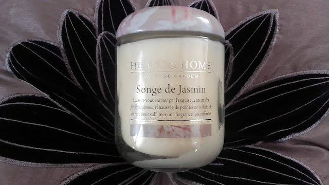 avsi songe de jasmin, jasmine daydream heart and home, blog bougie, blog parfum, blog beauté