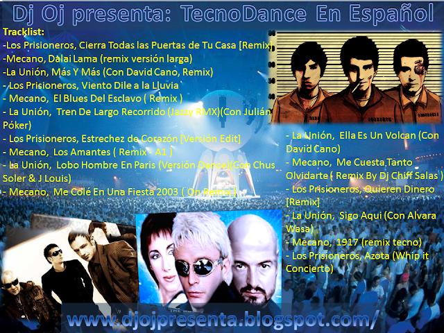 Mp3 Download Estrechez De Corazon Los Prisioneros: Dj Oj Presenta:: Dj Oj Presenta: Español Tecno Dance
