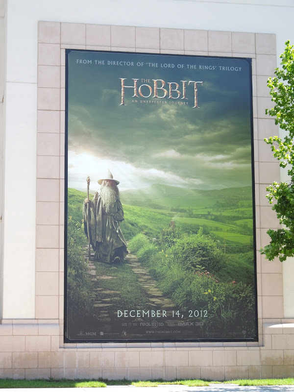 Hobbit movie teaser billboard