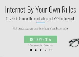 Ulasan dan Cara Penggunaan Secara Lengkap Tentang Le VPN
