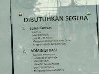 Lowongan Kerja PO BOX 1122 Padang