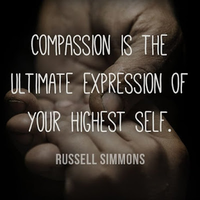 Famous Quotes About Life Changes: compassion is the ultimate expression of your highest self